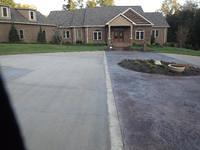 Clemmons Custom Stamped Driveway