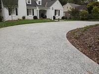 Custom Exposed Aggregate French Grey Buena Vista