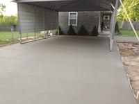New Driveway with Stamped